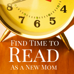 Finding Time for Pleasure Reading as a New Mom