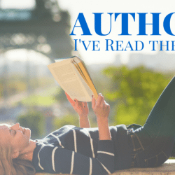 The Top Ten Authors I've Read the Most