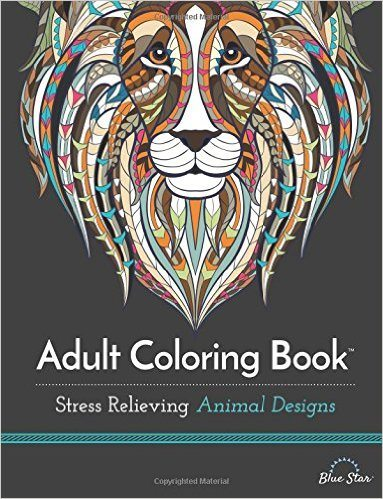 Give the gift of play with coloring books for adults.