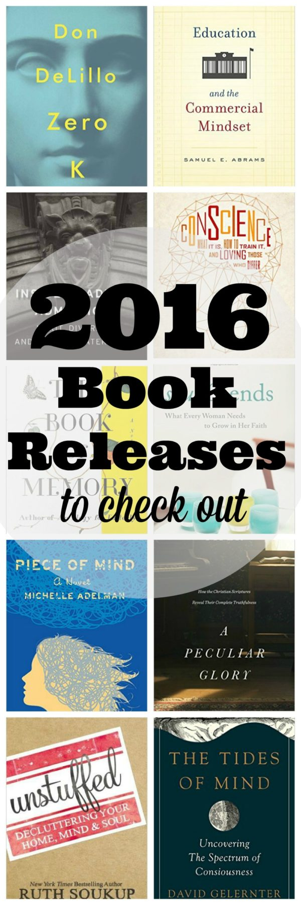 2016 Book Releases to Check Out
