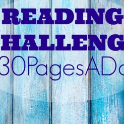 Reading Challenge: 30 Pages a Day