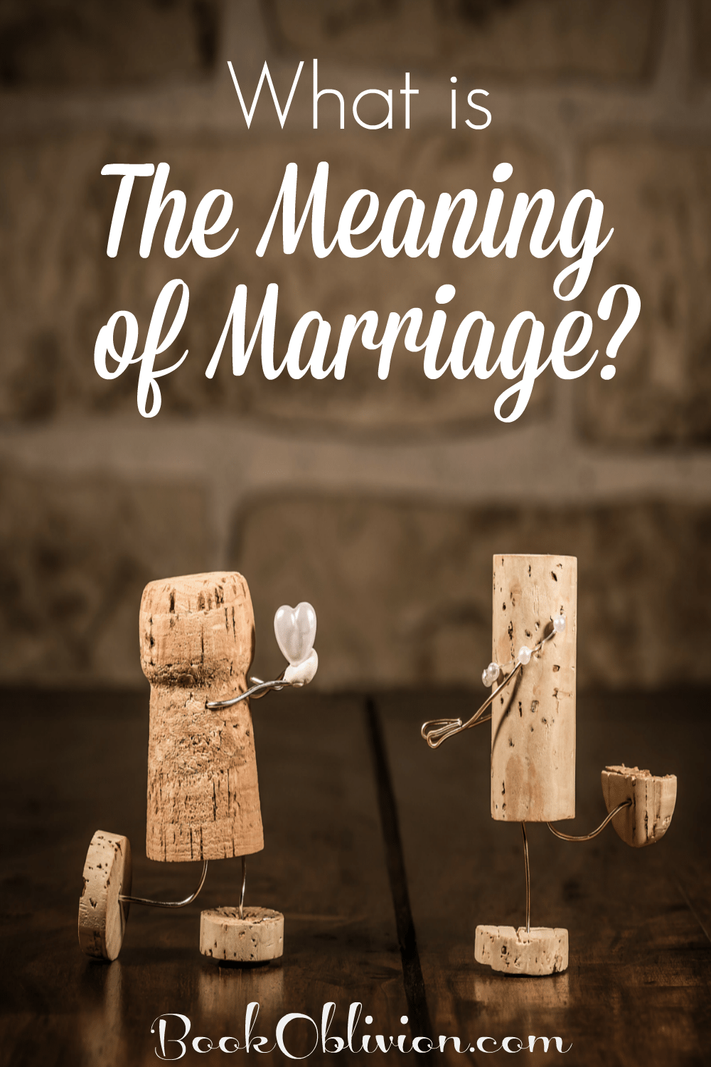 what is the meaning of marriage book oblivion