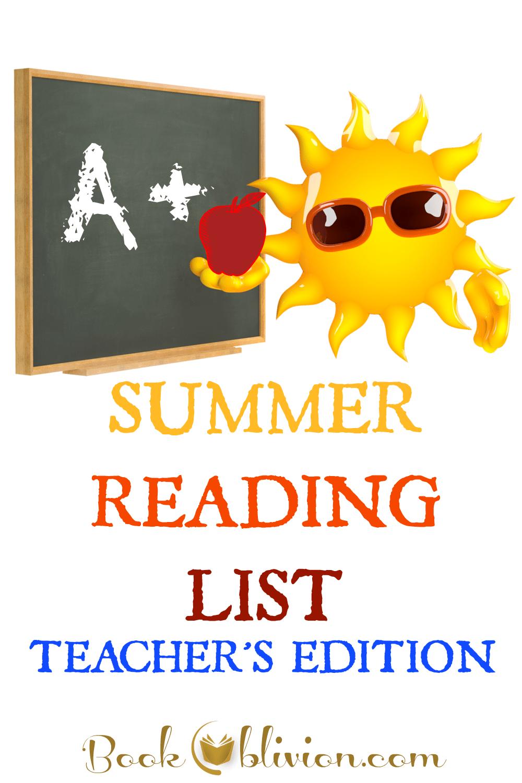Summer Reading List - Teacher's Edition