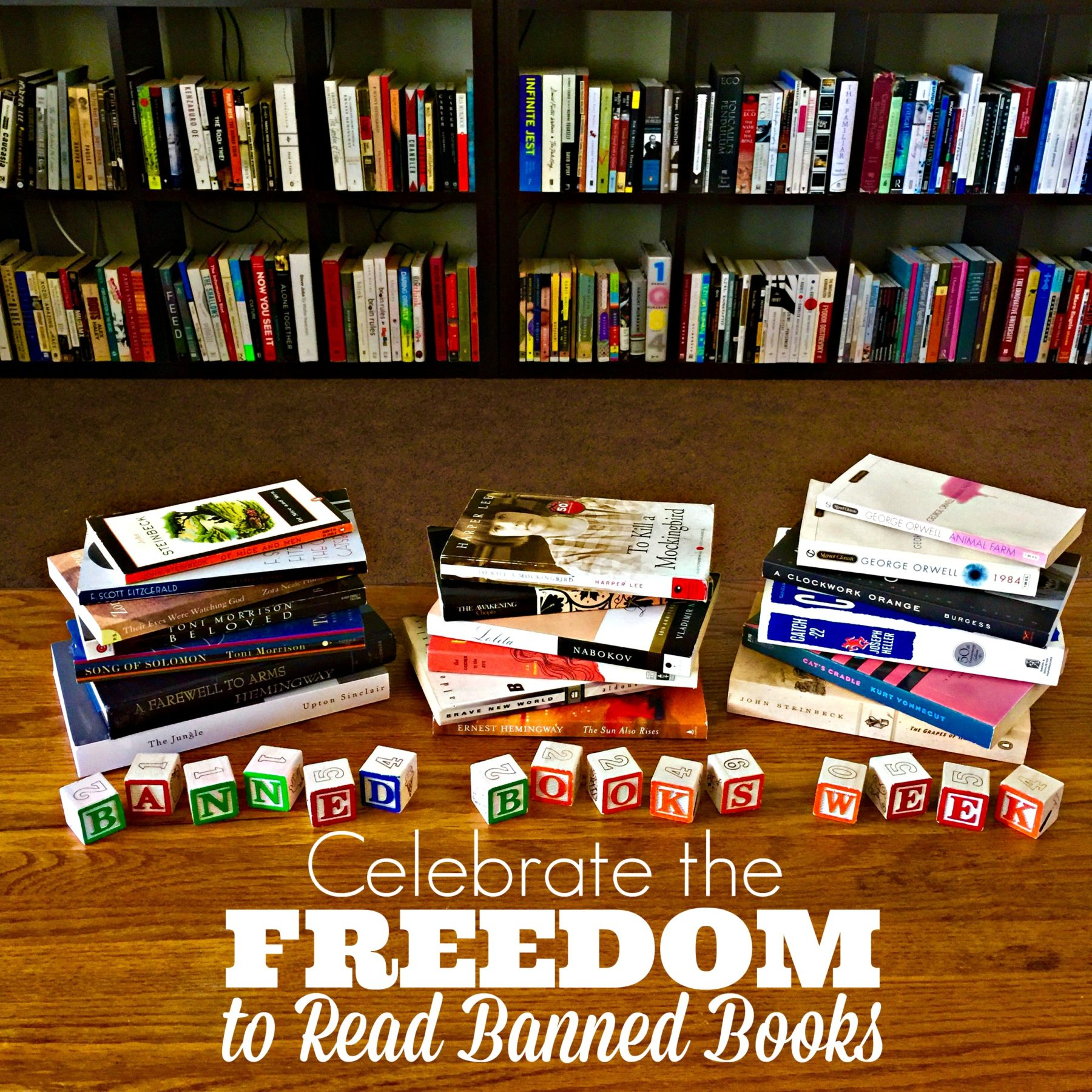 Celebrate the Freedom to Read Banned Books