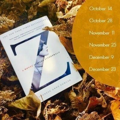 Fall Book Reading Schedule - Zelda