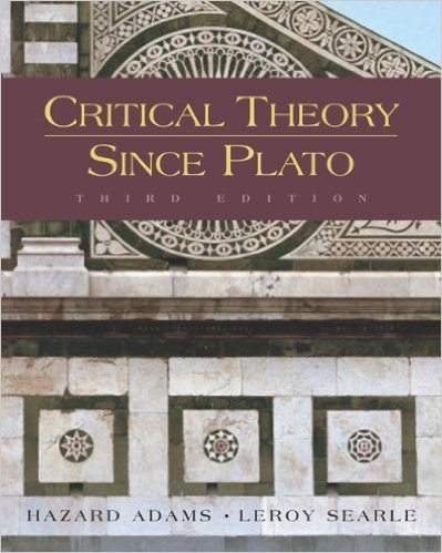 The Best Books on Literary Theory and Criticism | Critical Theory Since Plato