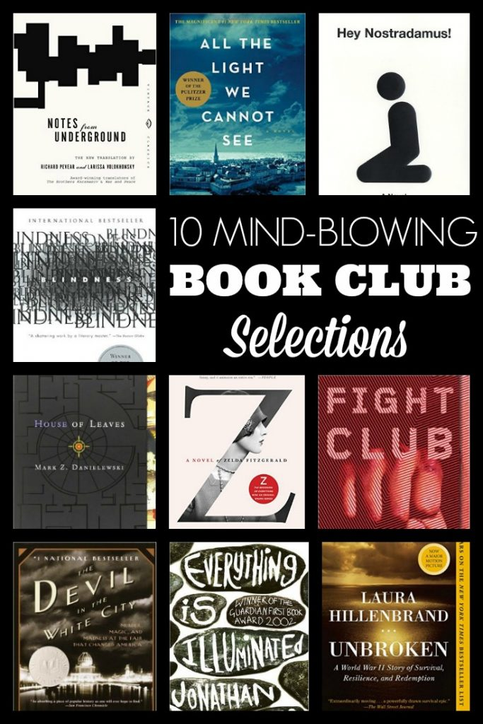 10 Mind-Blowing Book Club Selections