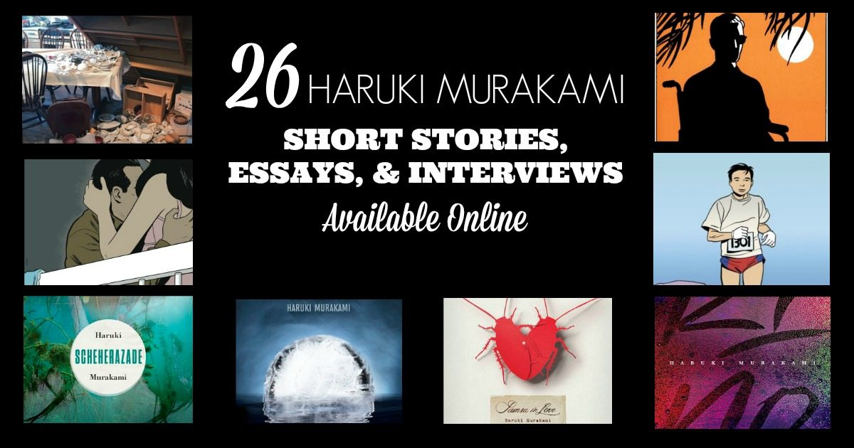 haruki murakamis short stories essay Haruki murakami's surreal short stories linger in the memory, even if the plots don't men without women presents damaged characters wrestling with their demons, as.