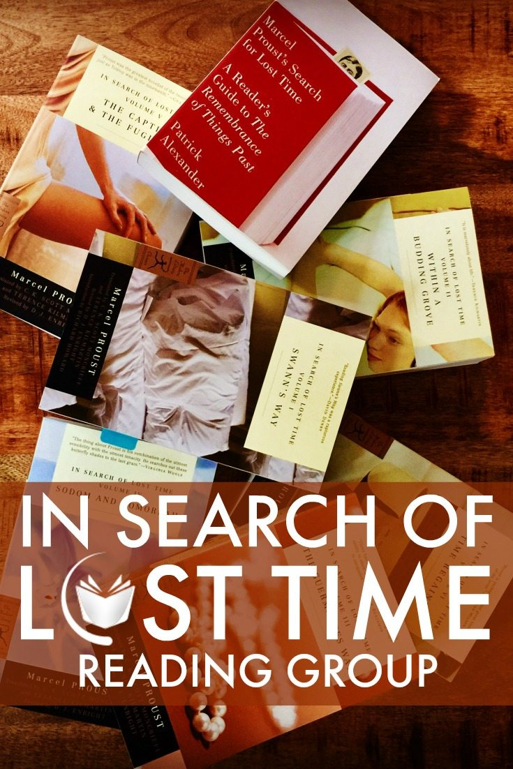 In Search of Lost Time Reading Group