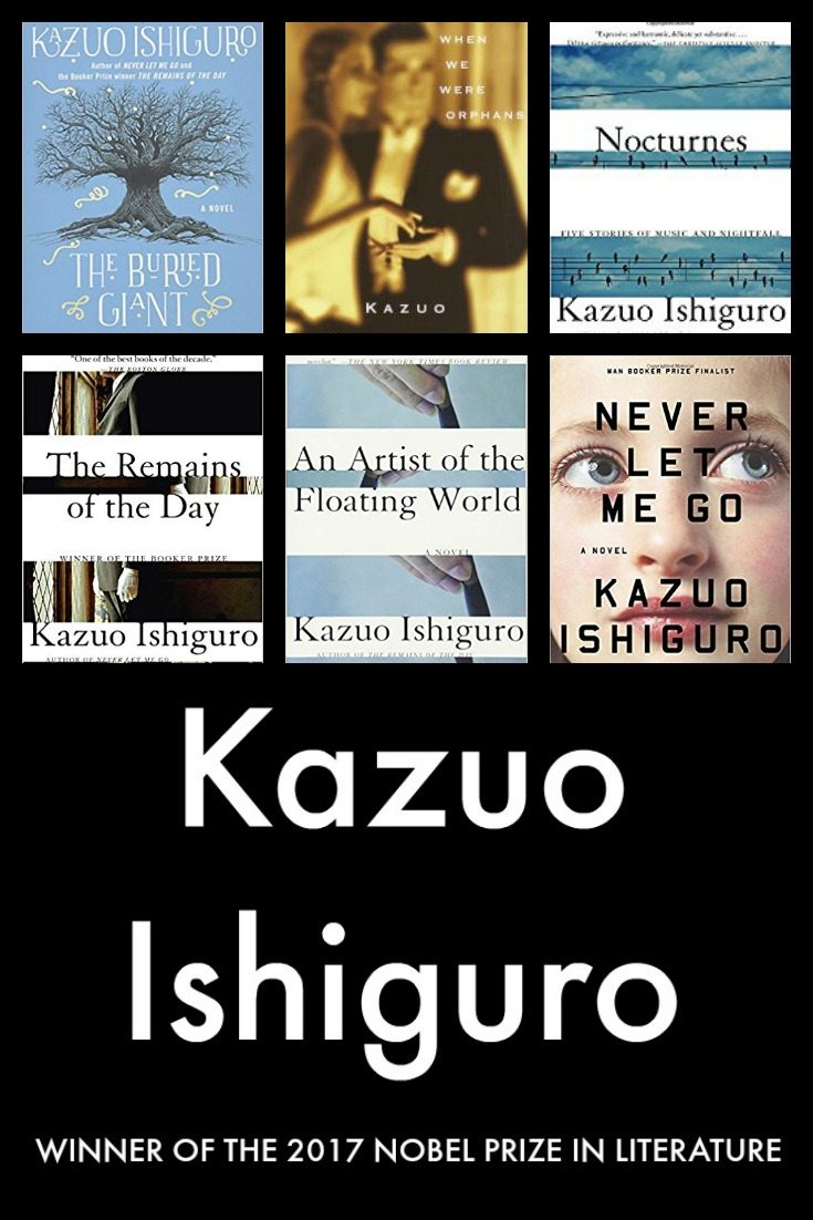 Kazuo Ishiguro Winner of the Nobel Prize in Literature 2017