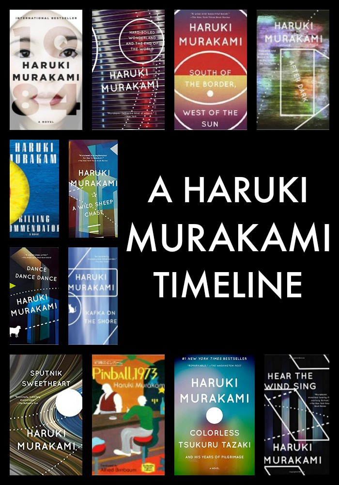 This Haruki Murakami timeline presents the year that every Haruki Murakami novel debuted in the chronological order of publication and some of the greatest Murakami quotes ever written.
