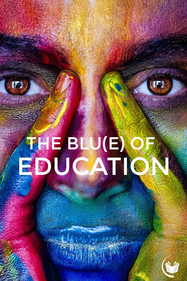 The Blue of Education