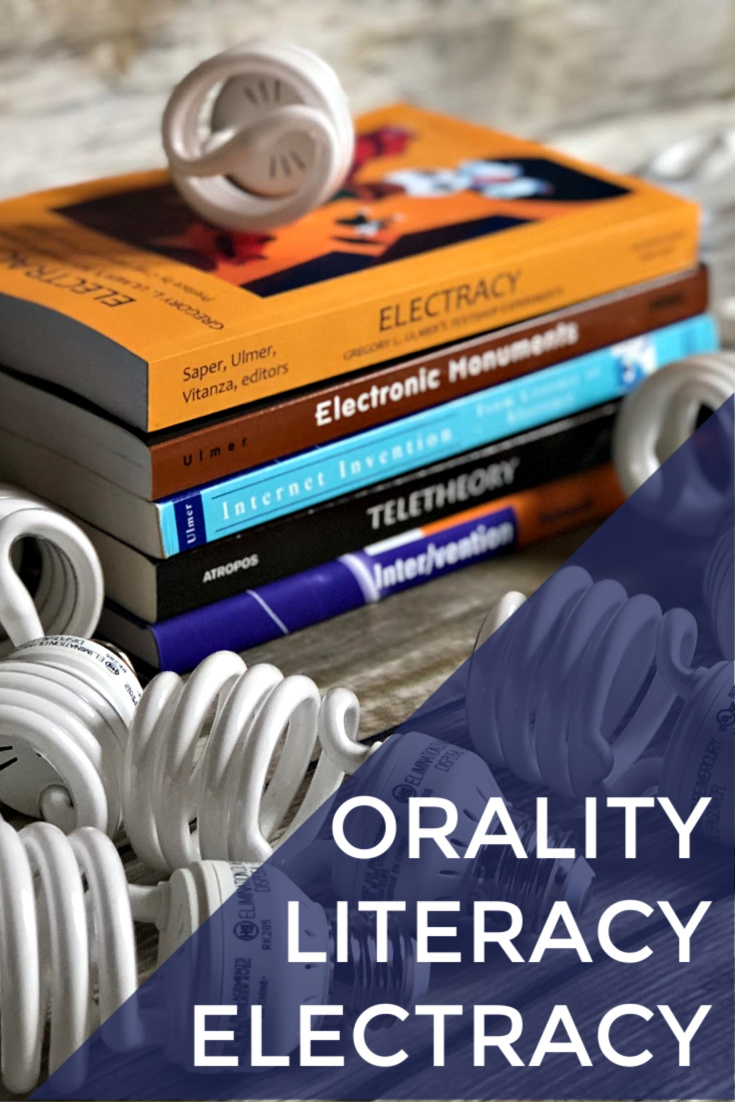 Orality to Literacy to Electracy