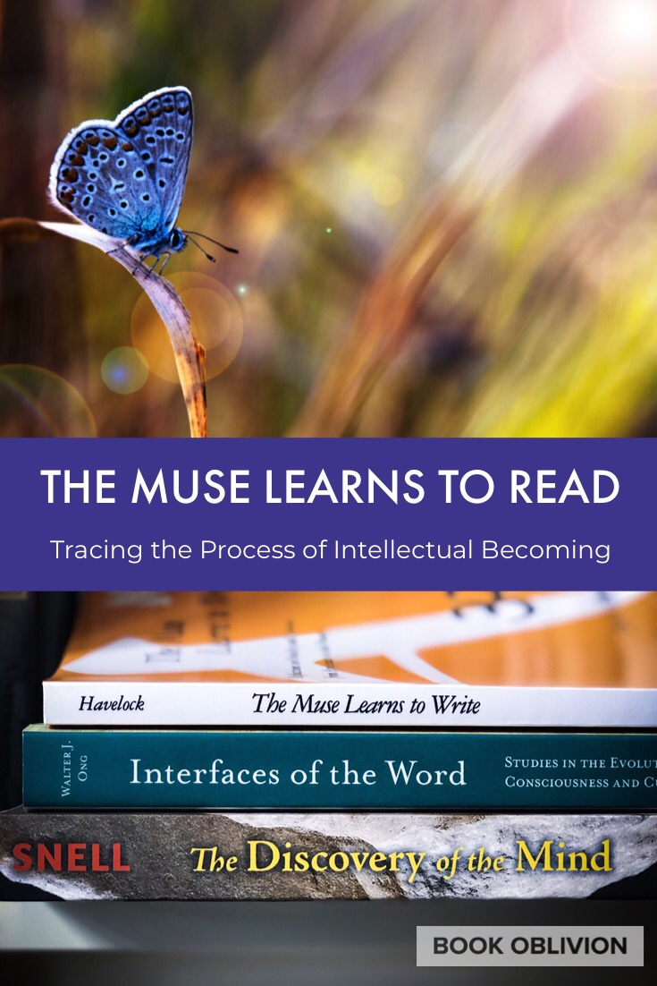 The Muse Learns to Read: Trace the Process of Intellectual Becoming