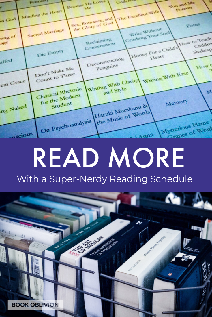 Set reading goals, organize reading categories, and create a reading plan with this book reading schedule template that you can use all year long. Whether you are a professional reader or just love to organize your mind all the way down to your book list, this post will help you see how to keep a serious book reading schedule. Caution: super nerds only.