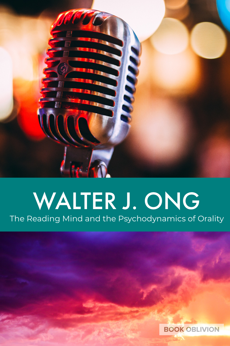 Walter Ong explores the move from orality to literacy with an emphasis on memory, emotion, and sound in conscious awareness.