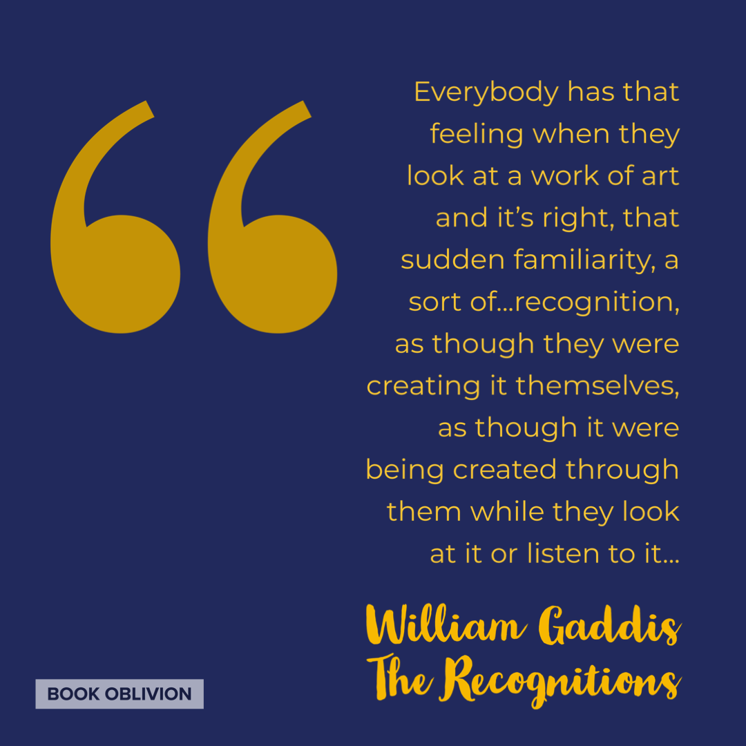 William Gaddis - The Recognitions